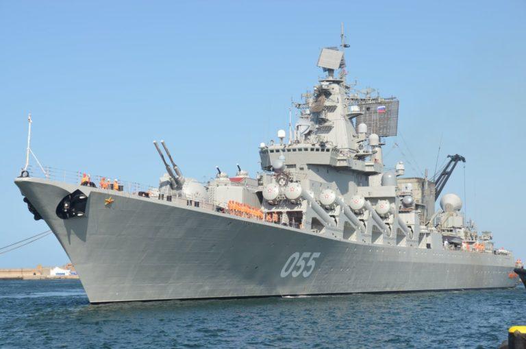 Африканский флот принимает Россию и Китай для морских учений